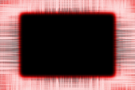 Red and black lines border frame background with a black centre Imagens