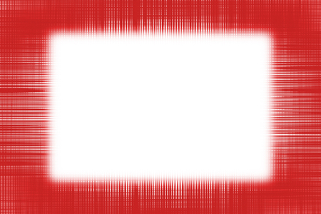 Red netting border frame background with copy space