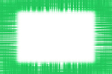 Green netting border frame background with copy space Stock Photo
