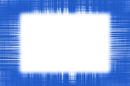 Blue netting border frame background with a white copy space centre