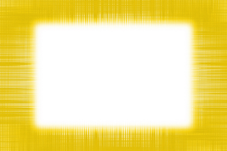 Yellow netting border frame background with a white copy space centre