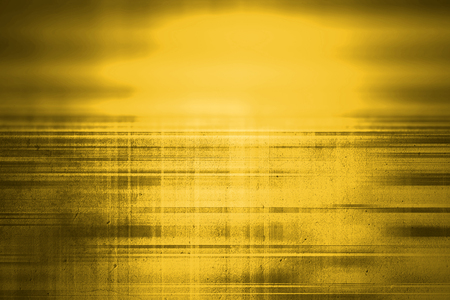 Yellow grunge blur background with highlight Stock Photo