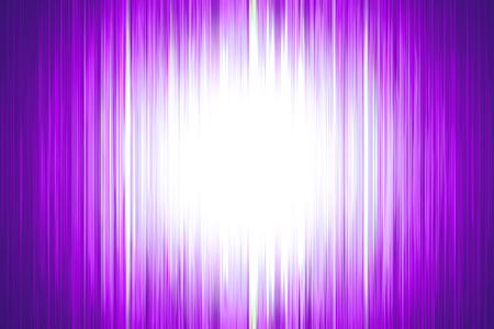 Purple blurred stripes and white spotlight centre with copy space