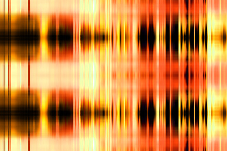Black and orange abstract crossing blurred stripes background