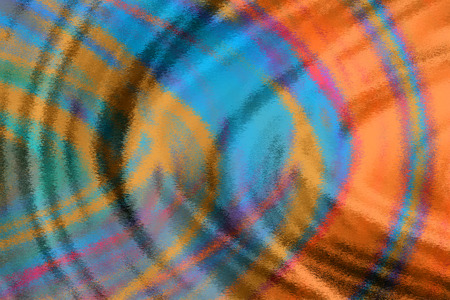 Textured blue and orange ripples background Stok Fotoğraf