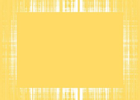Thin yellow faded rough lines frame with yellow copy space Imagens