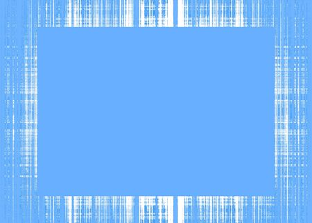 Thin blue and white rough lines frame with blue copy space