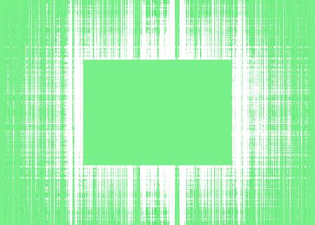 Wide green and white rough lines frame with green copy space