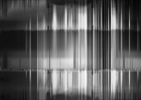 Black and white rough streaked background Banco de Imagens - 138530303
