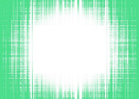Rough green lines background and white circular spotlight with copy space