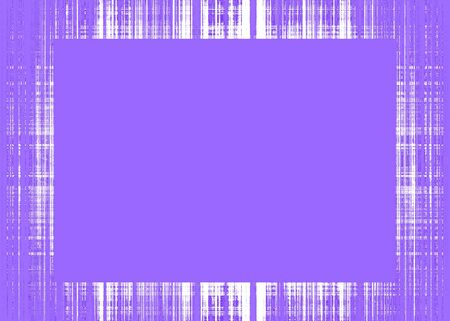 Thin purple rough lines frame with red copy space