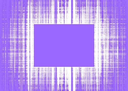 Wide purple and white rough lines frame with purple copy space