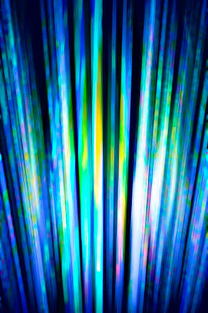 Cold blue and green blurred streaks background