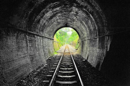 rails: a tunnel