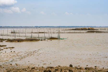 Fishing facilities on the beach