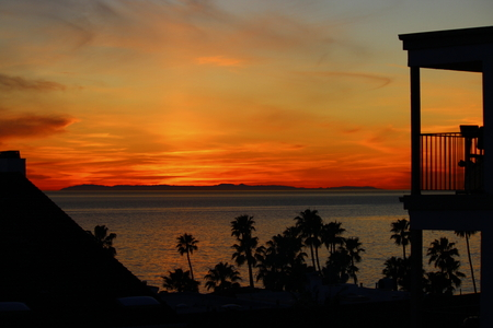 San Clemente Sunset with Catalina Island