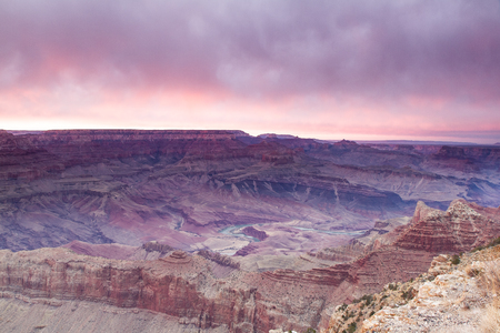 Grand Canyon Lippan Point Sunset