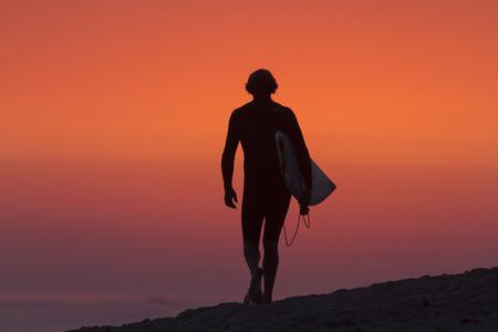 Lower Trestles Surfer - Silhouette, San Clemente