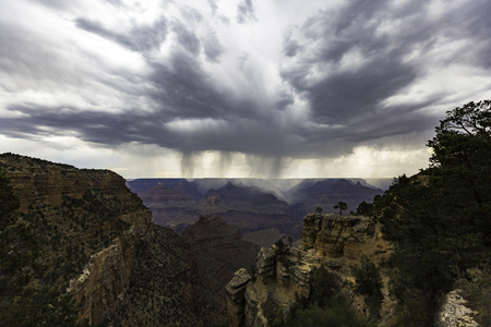 Grand Canyon Rain Shear