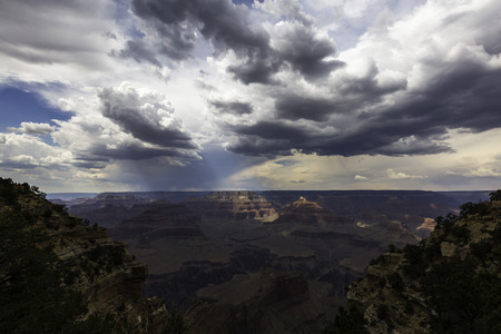 Grand Canyon SpotLight Stock Photo