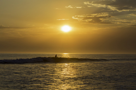 San Onofre Surfing Sunset