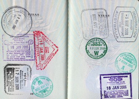 Passport Country Stamps photo