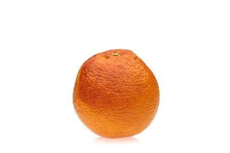 glycol: blood orange on white background Stock Photo