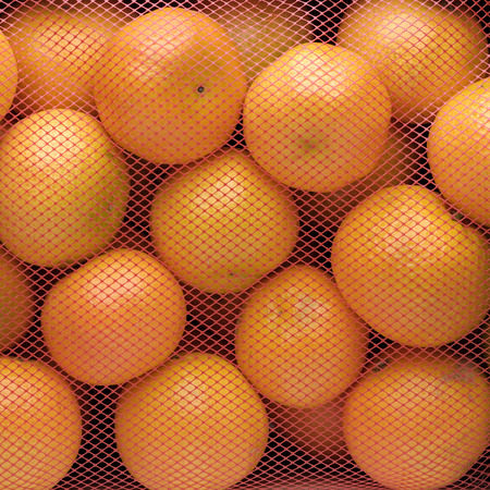 glycol: group of tangerines Stock Photo
