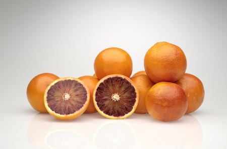 glycol: group cut oranges Stock Photo