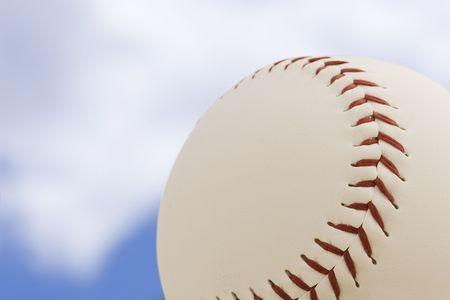 Baseball and sky Stock Photo - 423924