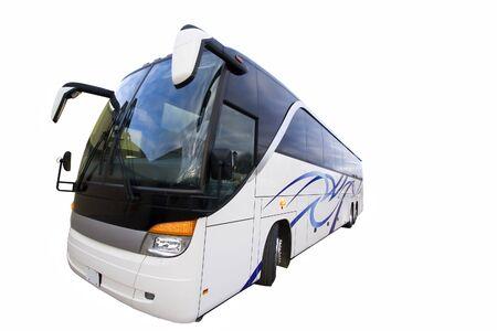 A wide angle view of a tour bus Zdjęcie Seryjne - 733915