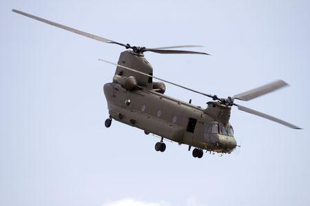 chinook: Boeing Vertol Chinook Elicottero durante terra ruolo di sostegno