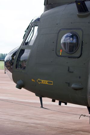 chinook: Royal Air Force Boeing CH-47 Chinook Helicopter Vertol