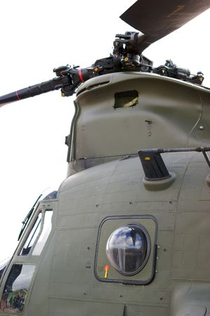 royal air force: Royal Air Force CH-47 Boeing Vertol Chinook Helicopter Stock Photo