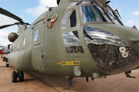 chinook: Royal Air Force CH-47 Chinook Boeing Vertol elicottero editoriale utilizzare solo