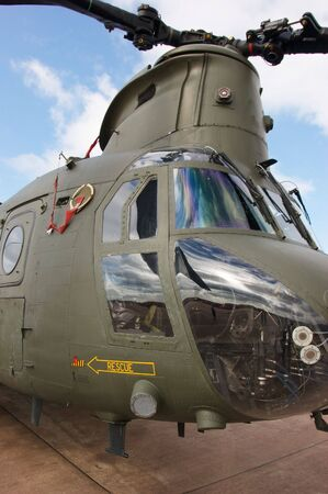 chinook: Royal Air Force Boeing CH-47 Chinook Helicopter Vertol EDITORIALE USE ONLY
