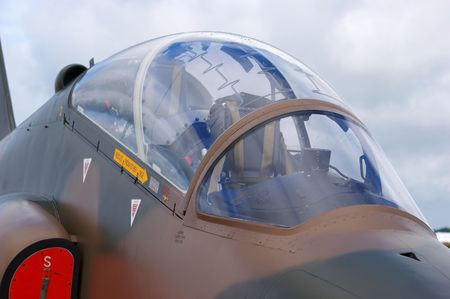 royal air force: Close up of Royal Air Force Hawk Jet Trainer EDITORIAL USE ONLY