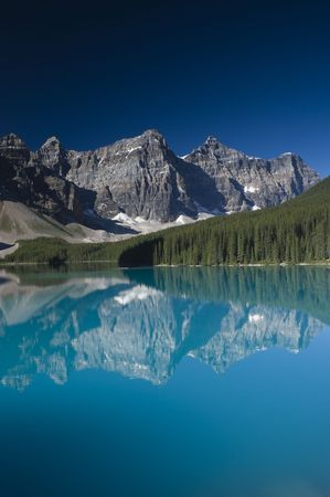 banff national park: Lake Moraine in Banff National Park Canada