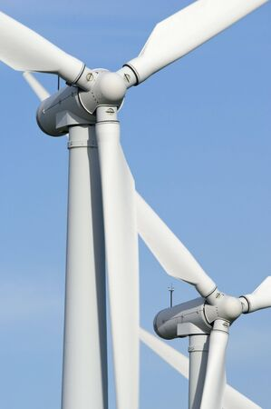 moors: Wind Turbines on the Yorkshire Moors England