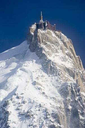 mont: The Mont Blanc mountain range in Chamonix