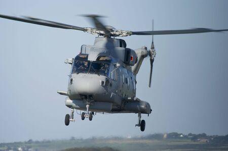 mago merlin: Real helic�ptero de la Marina de guerra antisubmarina Warfare Merlin HM1