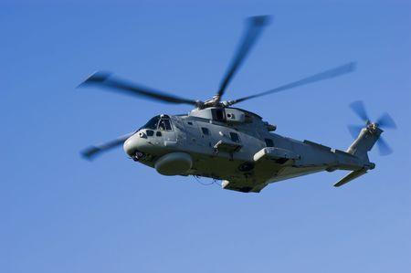 merlin: Real helic�ptero de la Marina de guerra antisubmarina Warfare Merlin HM1