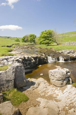 dales: Langstrothdale in Yorkshire Dales North Yorkshire England