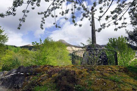 The Massacre Of Glencoe Memorial Fort William Appin Scotland Stock Photo - 7332172