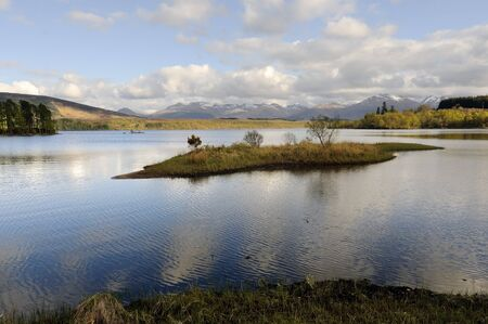 View across Loch Lochy (Loch Lochaidh) in Lochaber Scotland photo