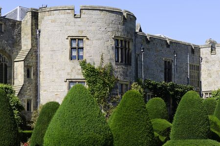 king edward: Chirk Castle (Castell y Waun) completed in 1310 for King Edward I Clwyd Wales UK