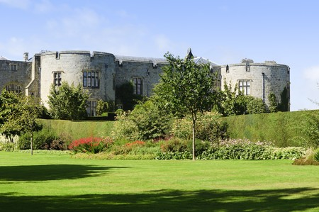 Chirk Castle (Castell y Waun) completed in 1310 for King Edward I Clwyd Wales UK photo