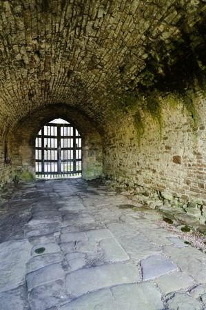 wensleydale: Castle Bolton built in 1399AD Wensleydale Yorkshire Dales UK