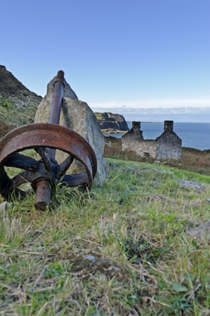 nant: Nant Gwrtheyrn a former quarrying village on the northern coast of the Llyn Peninsula Wales