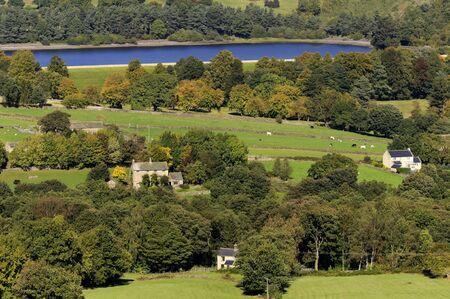 derbyshire: Bradfield Dale in Peak District National Park Derbyshire England